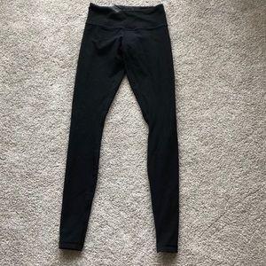 size 4 lululemon full length black leggings